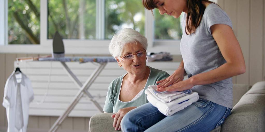 Entretien du logement personnes âgées